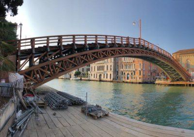 Restauro Ponte dell'Accademia – Venezia